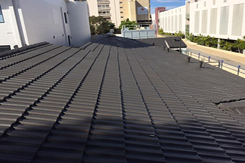 After roof restoration by Luxe Painting Perth